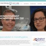 Website van Mondzorg aan zee
